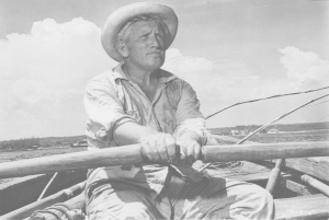 Spencer Tracy stars in The Old Man And The Sea, based on the book by Ernest Hemingway.  1958 ORG XMIT: POS2013102414521984