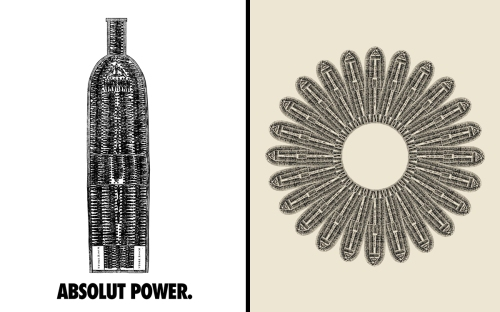 Hank Willis Thomas's Hank Willis Thomas's Absolut Power, 2003